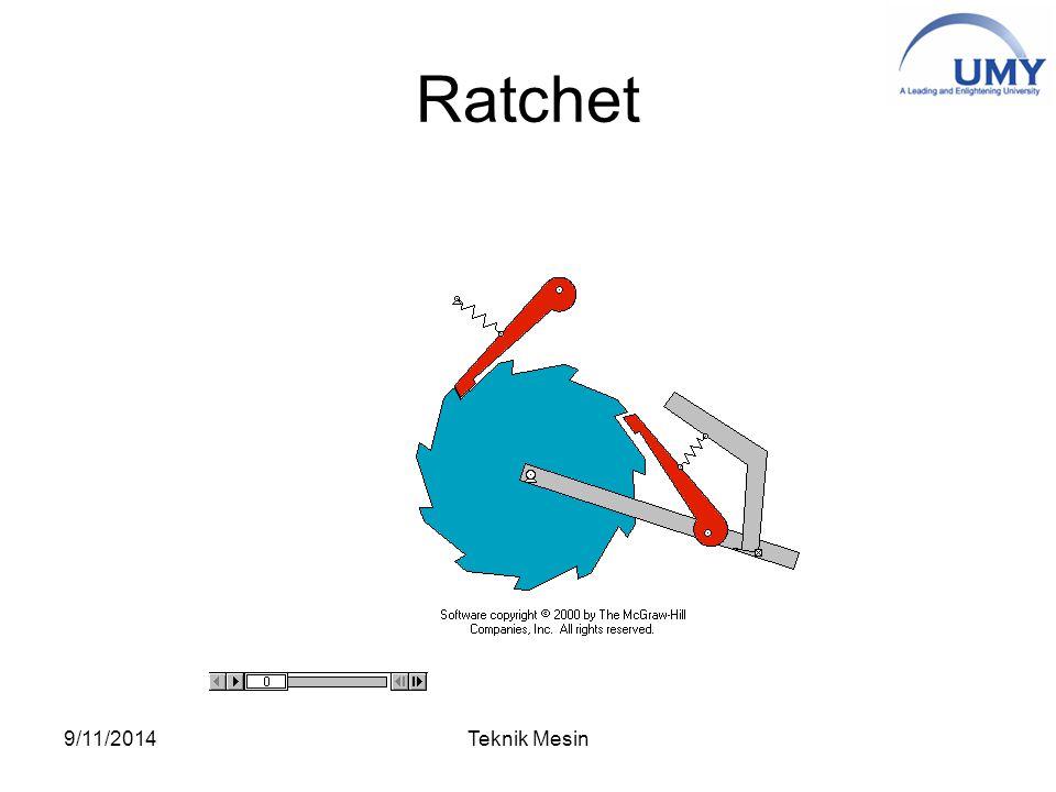 Ratchet 9/11/2014Teknik Mesin