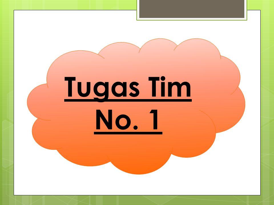Tugas Tim No. 1
