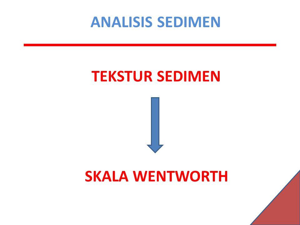 TEKSTUR SEDIMEN SKALA WENTWORTH ANALISIS SEDIMEN