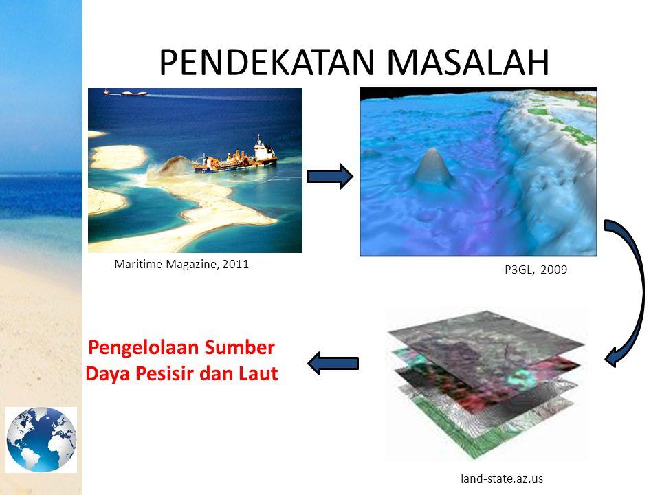 PENDEKATAN MASALAH P3GL, 2009 Maritime Magazine, 2011 land-state.az.us Pengelolaan Sumber Daya Pesisir dan Laut