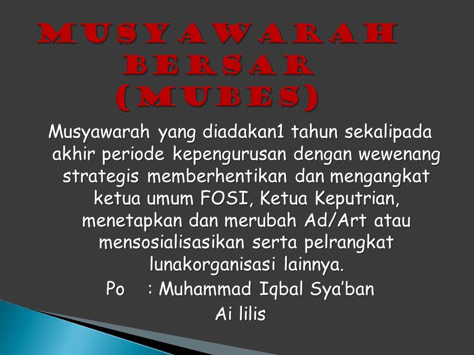 Staf ahli Maulana Abdul Malik Kepala Bidang Kaderisasi Muhammad Iqbal Sya'ban Dinata Indri Ai Lilis