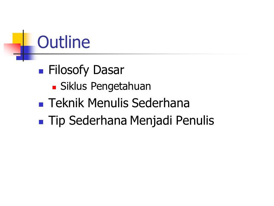 Struktur Naskah / File Judul & nama penulis.