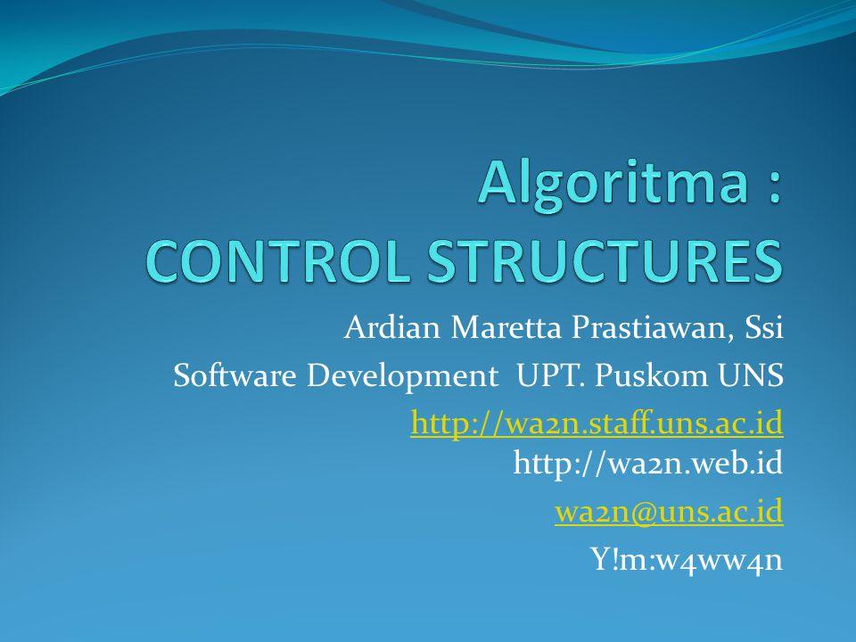 Ardian Maretta Prastiawan, Ssi Software Development UPT. Puskom UNS http://wa2n.staff.uns.ac.id http://wa2n.staff.uns.ac.id http://wa2n.web.id wa2n@un
