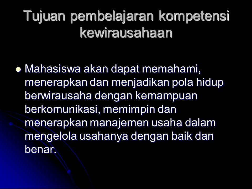 Sakernas (2010) Sakernas (2010) mengemukakan fenomena ironis yang muncul di dunia pendidikan Indonesia dimana semakin tinggi pendidikan seseorang, probabilitas atau kemungkinan menjadi pengangguran semakin tinggi mengemukakan fenomena ironis yang muncul di dunia pendidikan Indonesia dimana semakin tinggi pendidikan seseorang, probabilitas atau kemungkinan menjadi pengangguran semakin tinggi upaya dalam mengurangi tingkat pengangguran terdidik di Indonesia adalah dengan menciptakan lulusan-lulusan yang tidak hanya memiliki orientasi sebagai job seeker namun job maker atau yang kita sebut wirausaha.