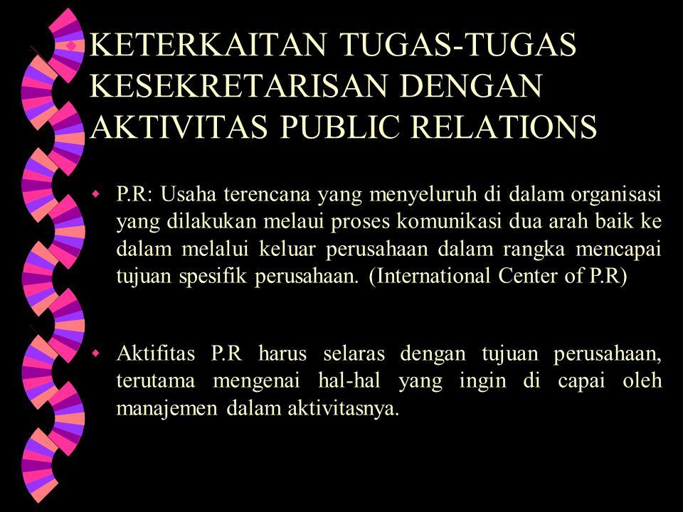 Sekretaris sebagai pegawai yang berkepribadian : w Sekretaris hendaknya menggunakan pedoman dasar- dasar kepribadian, kesusilaan, etika dan moral yang sesuai dengan adat kesusilaan bangsa Indonesia yang berfalsafah Pancasila.
