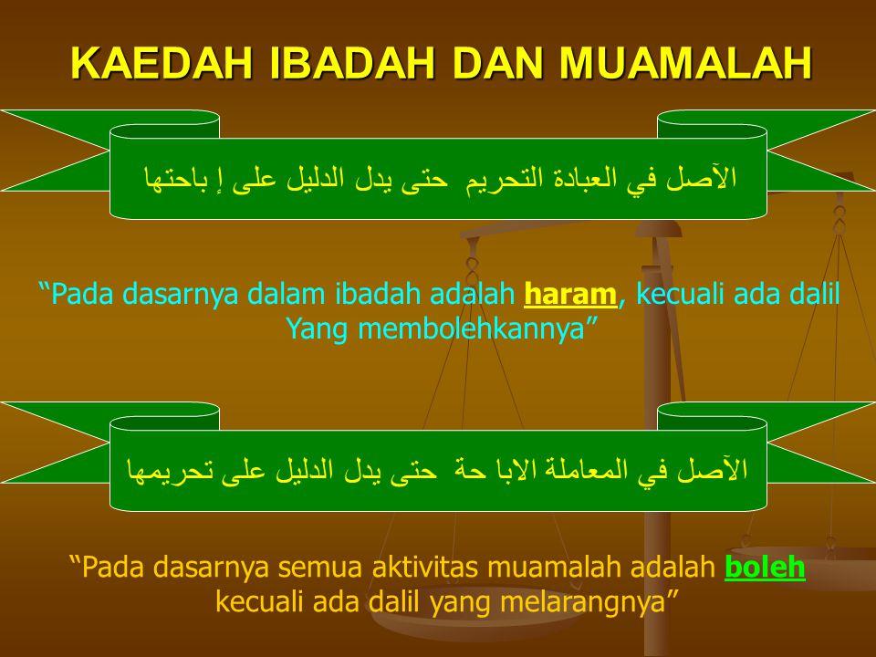 Dr.Abdul Sattar Fathullah Sa'id dalam kitab Al-Muamalah fil Islam berkata : Di antara unsur dharurat (masalah paling penting) dalam masyarakat manusia