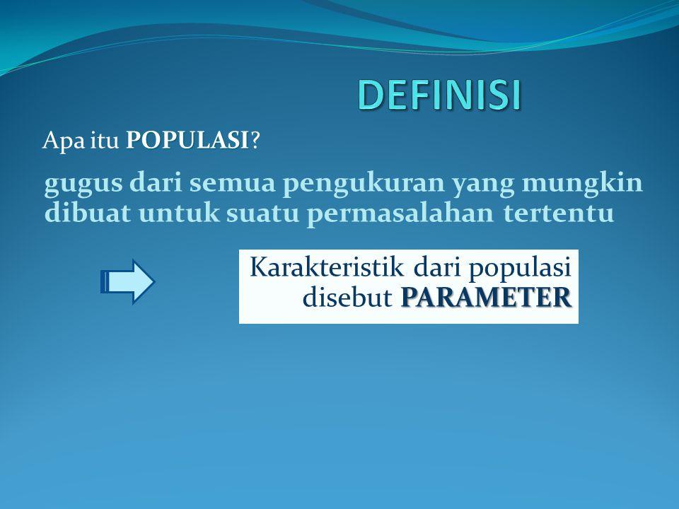 POPULASI Apa itu POPULASI.