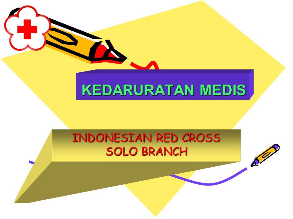 KEDARURATAN MEDIS INDONESIAN RED CROSS SOLO BRANCH