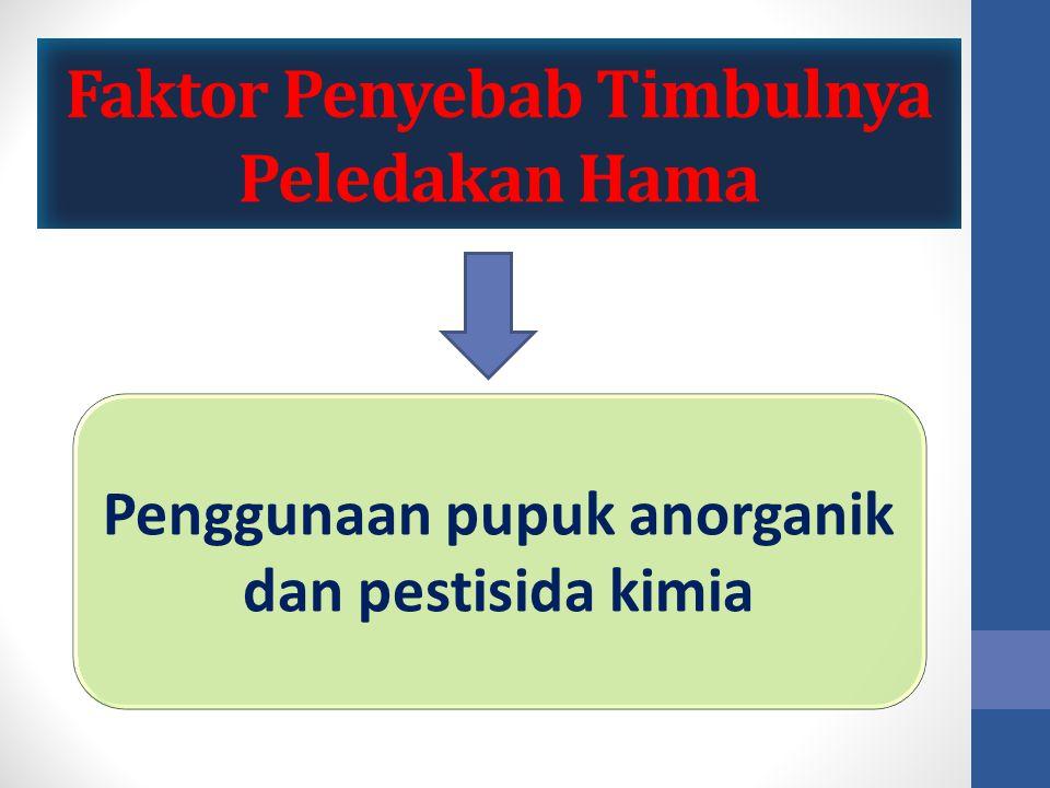 Pengertian Pengendalian Hama Terpadu (PHT) Pengendalian yang efektif dan efisien serta berwawasan lingkungan.