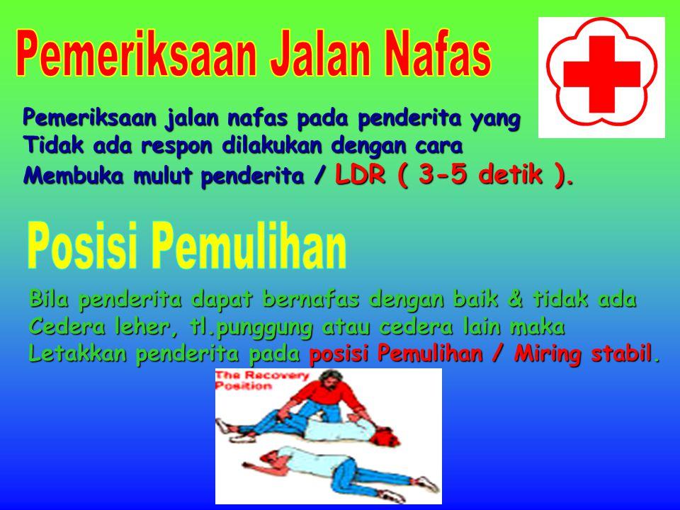 ( Pijatan Jantung Luar ) Kedalaman tekanan : Dewasa: 4-5 Cm Anak: 3-4 Cm Bayi: 1,5 – 2,5 Cm Dewasa AnakBayi