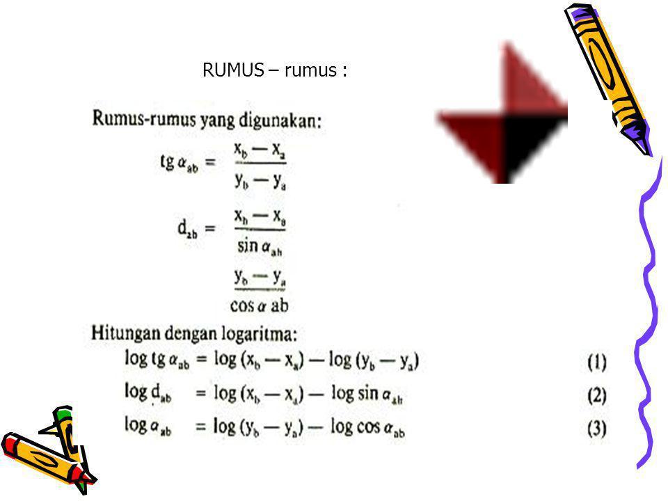 RUMUS – rumus :