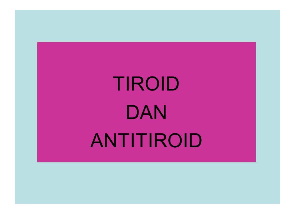 HORMON TIROID 1.1 Kimia dan Sintesis Berat kelenjar tiroid orang dewasa: 25-30 g.
