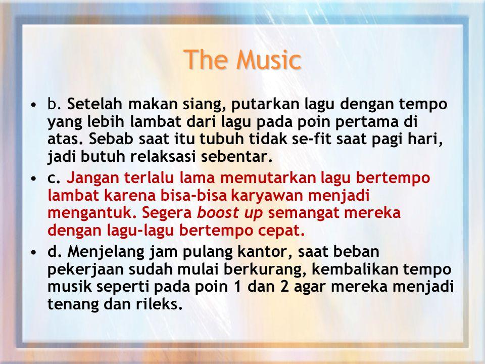 The Music b.