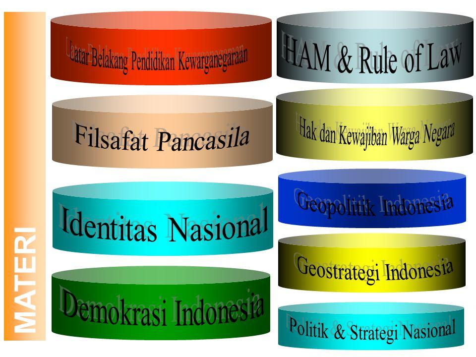 Tujuan umum; Memberikan pengetahuan dan kemampuan dasar kepada mahasiswa mengenai hubungan antara warga negara dengan negara serta Pendidikan Pendahul