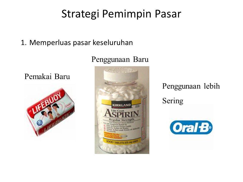 Strategi Pemimpin Pasar 1.
