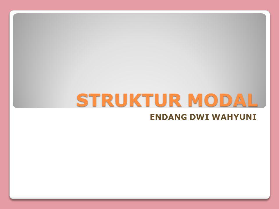 TEORI STRUKTUR MODAL Dalam teori struktur modal ada 2 hal yang disoroti, yaitu: Ko = biaya modal keseluruhan Po = harga saham sekarang Ada 4 pendekatan: 1.