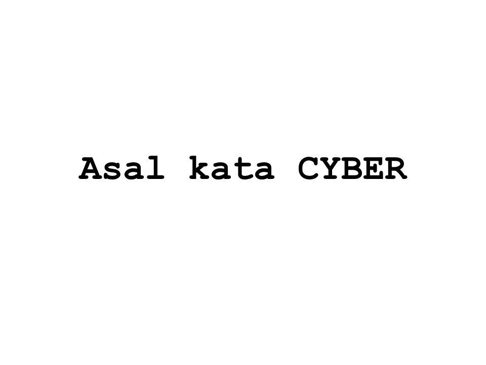 Asal kata CYBER