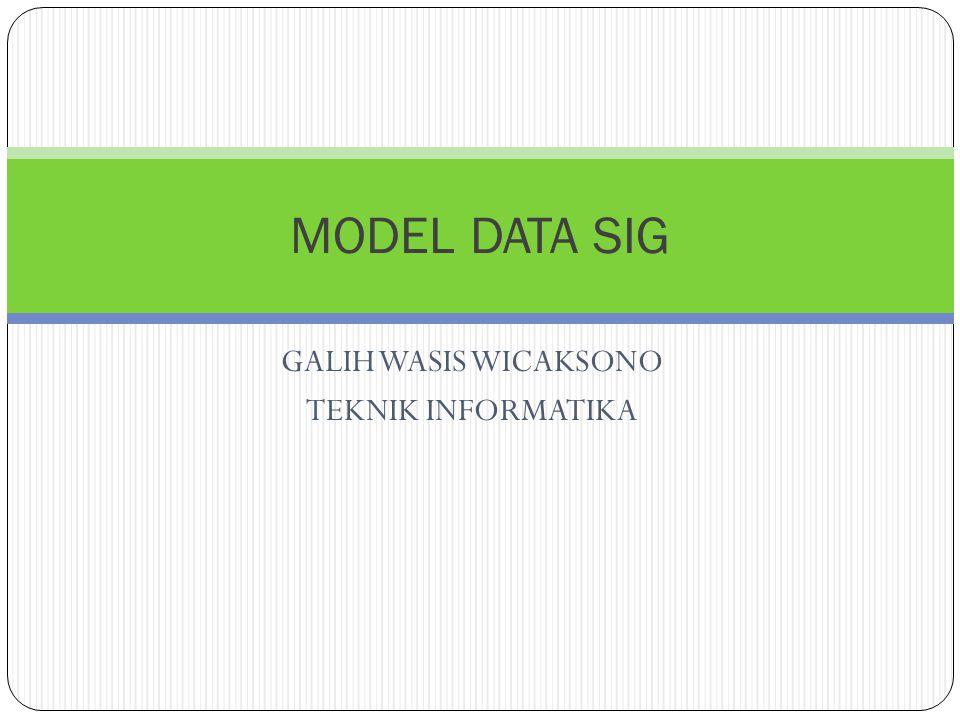 GALIH WASIS WICAKSONO TEKNIK INFORMATIKA MODEL DATA SIG