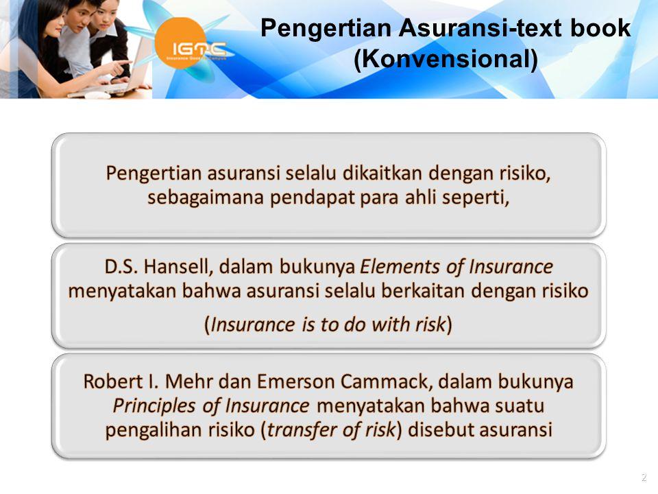 Agus Haryadi 2 Pengertian Asuransi-text book (Konvensional)