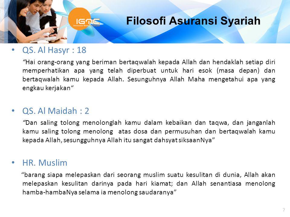 "Agus Haryadi 7 QS. Al Hasyr : 18 ""Hai orang-orang yang beriman bertaqwalah kepada Allah dan hendaklah setiap diri memperhatikan apa yang telah diperbu"