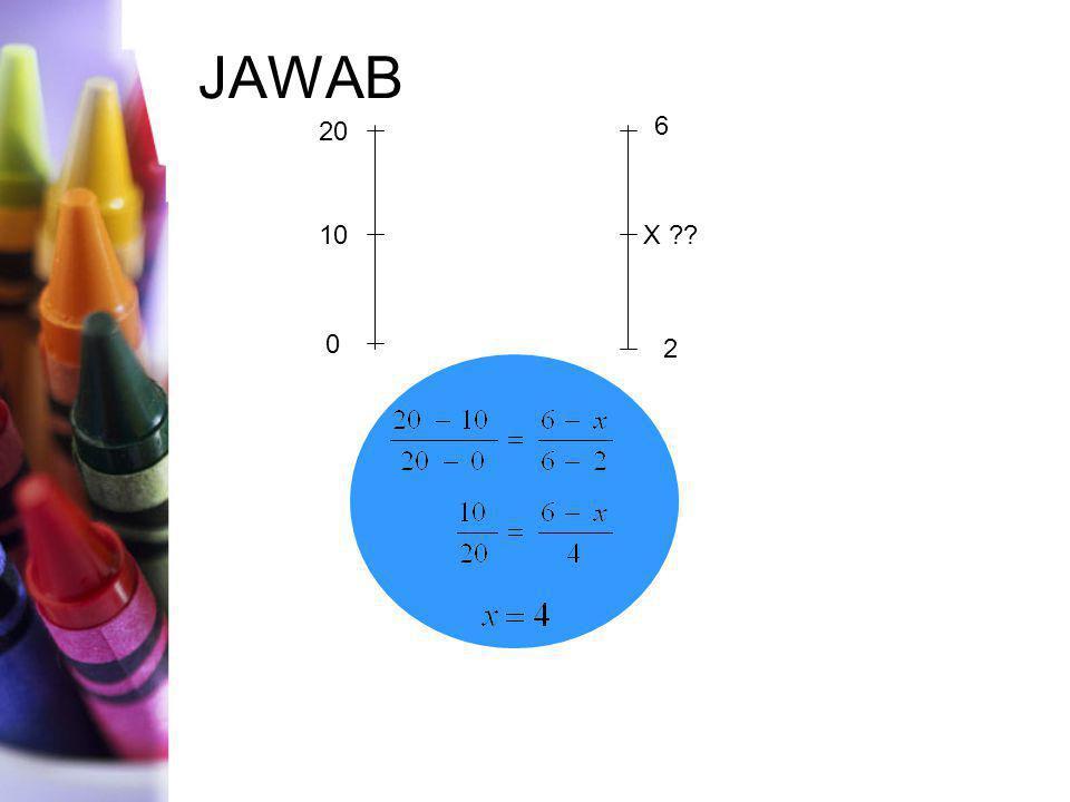 JAWAB 20 0 10 2 X ?? 6 4