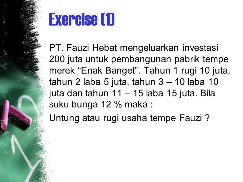 Exercise (1) PT.