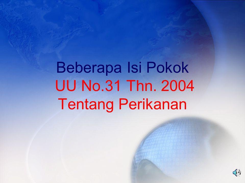 Terdiri atas: 17 bab 111 pasal