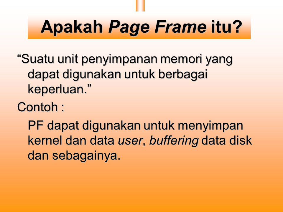 Apakah Page Frame itu.
