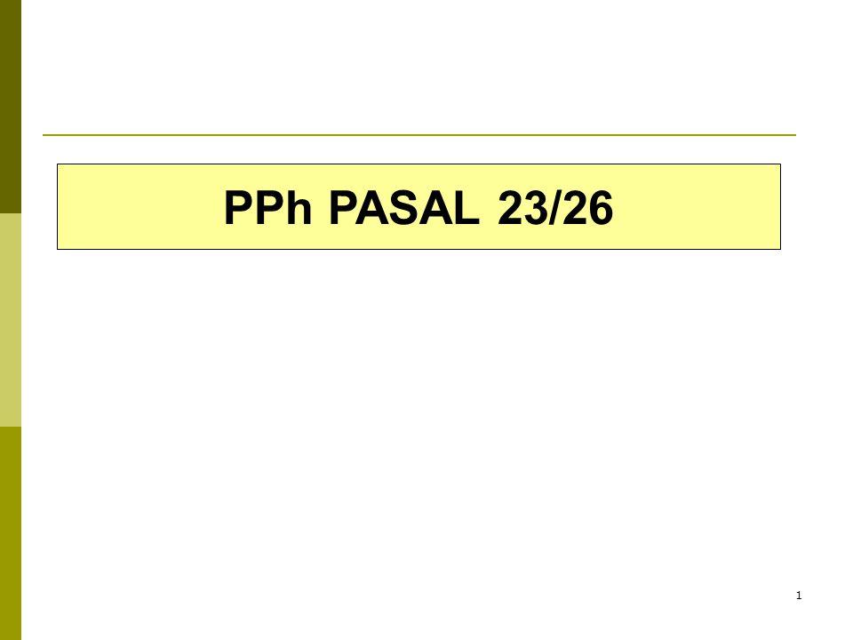 1 PPh PASAL 23/26