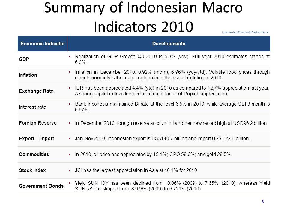  Realisasi total PMA dan PMDN tahun 2010 mencapai Rp.