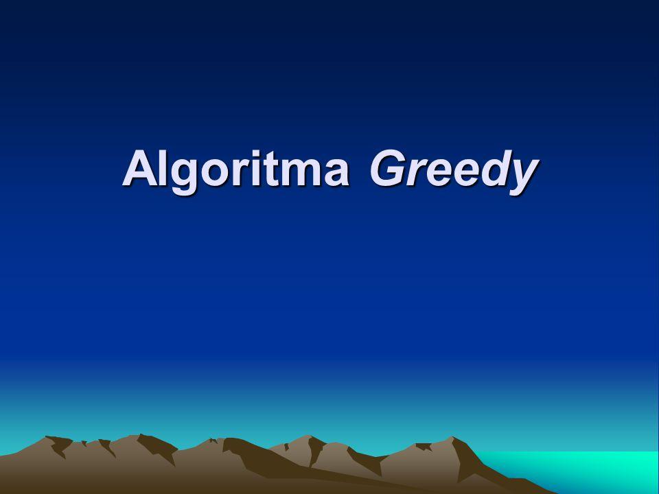 Algoritma Greedy
