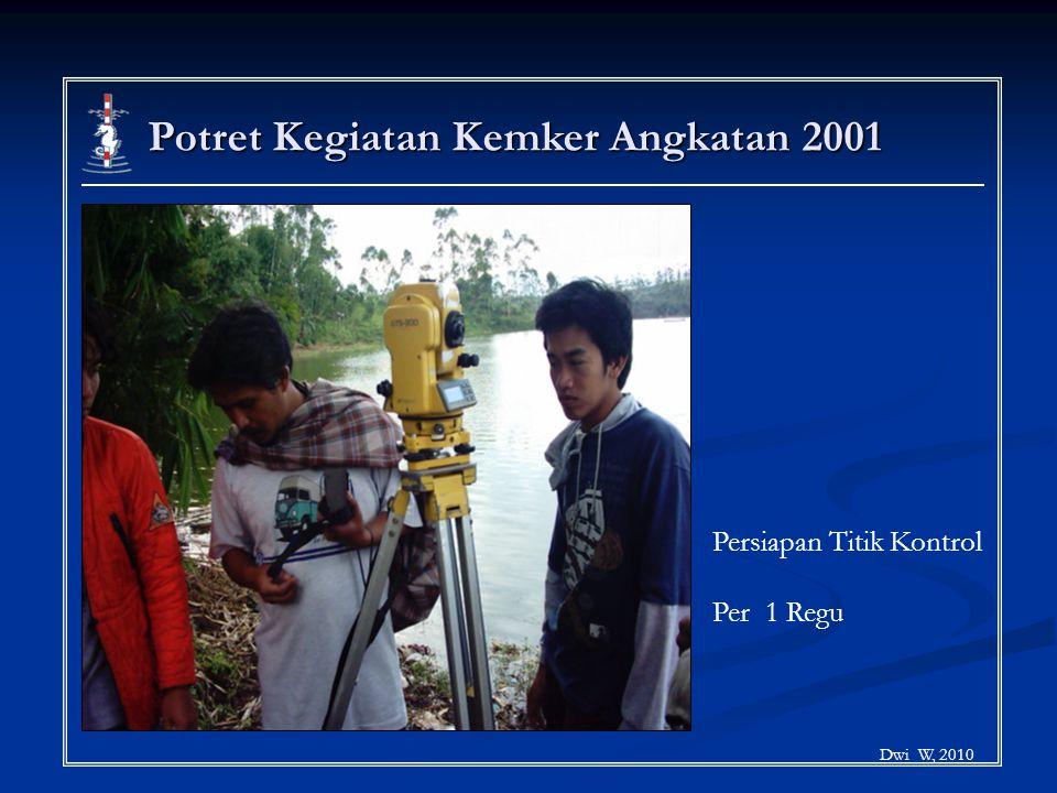 Potret Kegiatan Kemker Angkatan 2001 Dwi W, 2010 Persiapan Titik Kontrol Per 1 Regu
