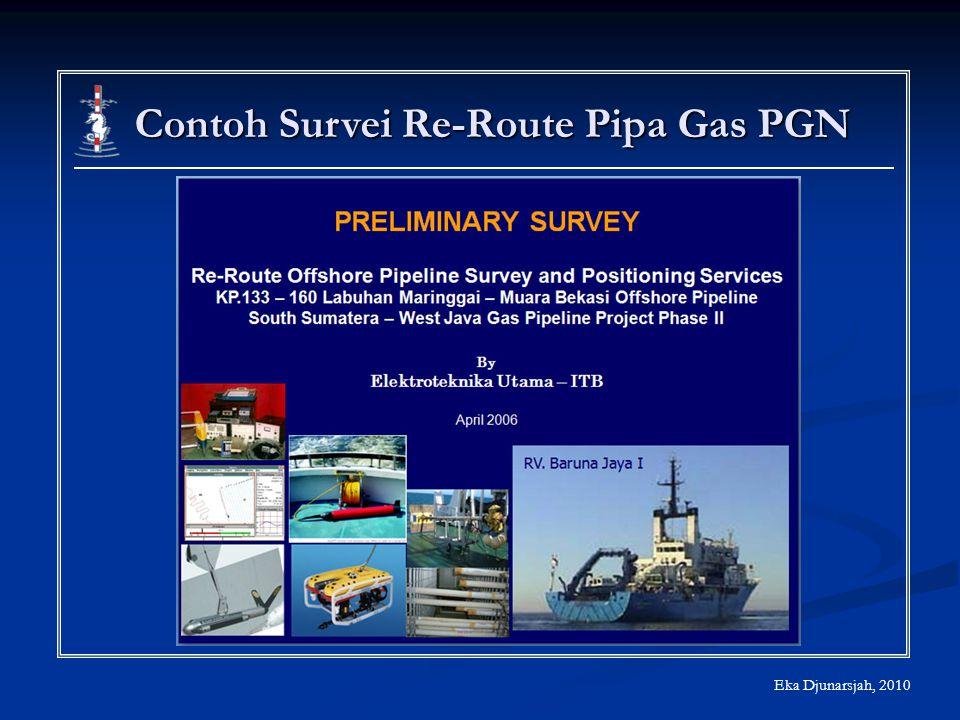 Contoh Survei Re-Route Pipa Gas PGN Eka Djunarsjah, 2010