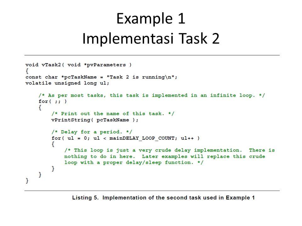 Example 5 Implementasi vTaskDelayUntil