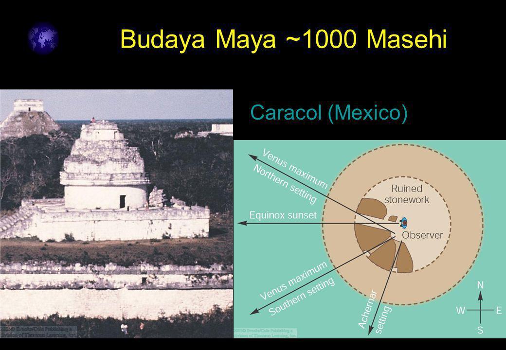 10 Budaya Maya ~1000 Masehi Caracol (Mexico)