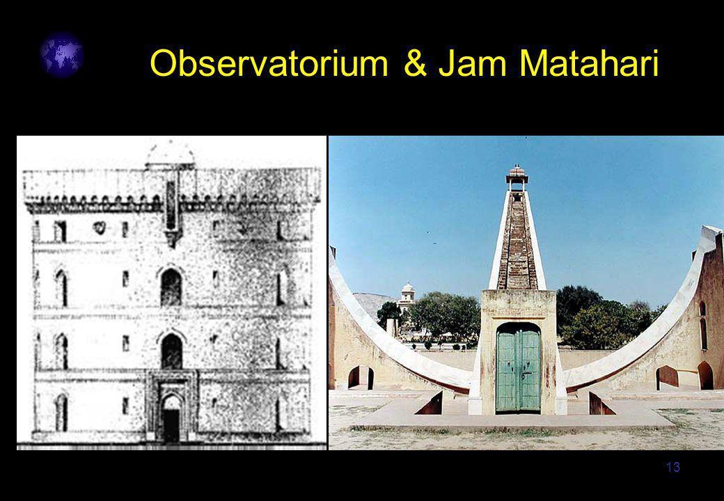 13 Observatorium & Jam Matahari