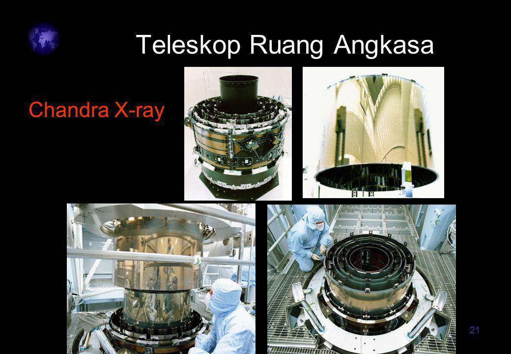 21 Teleskop Ruang Angkasa Chandra X-ray