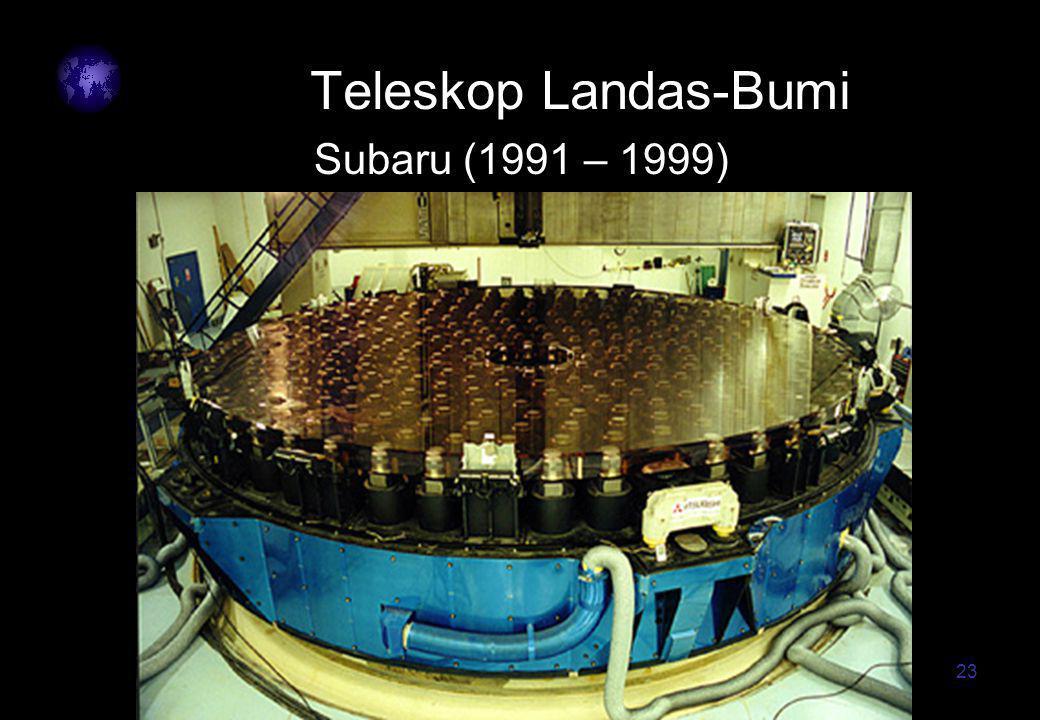 23 Teleskop Landas-Bumi Subaru (1991 – 1999)