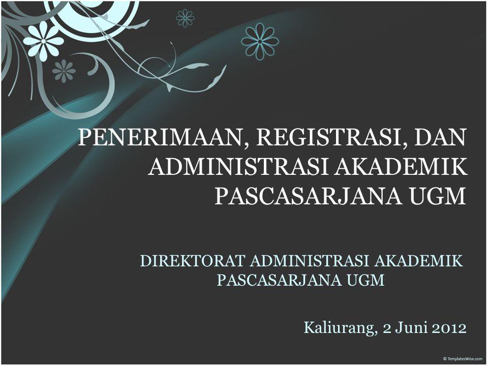 Subdit Pascasarjana DAA Seksi Penerimaan dan Registrasi (A.