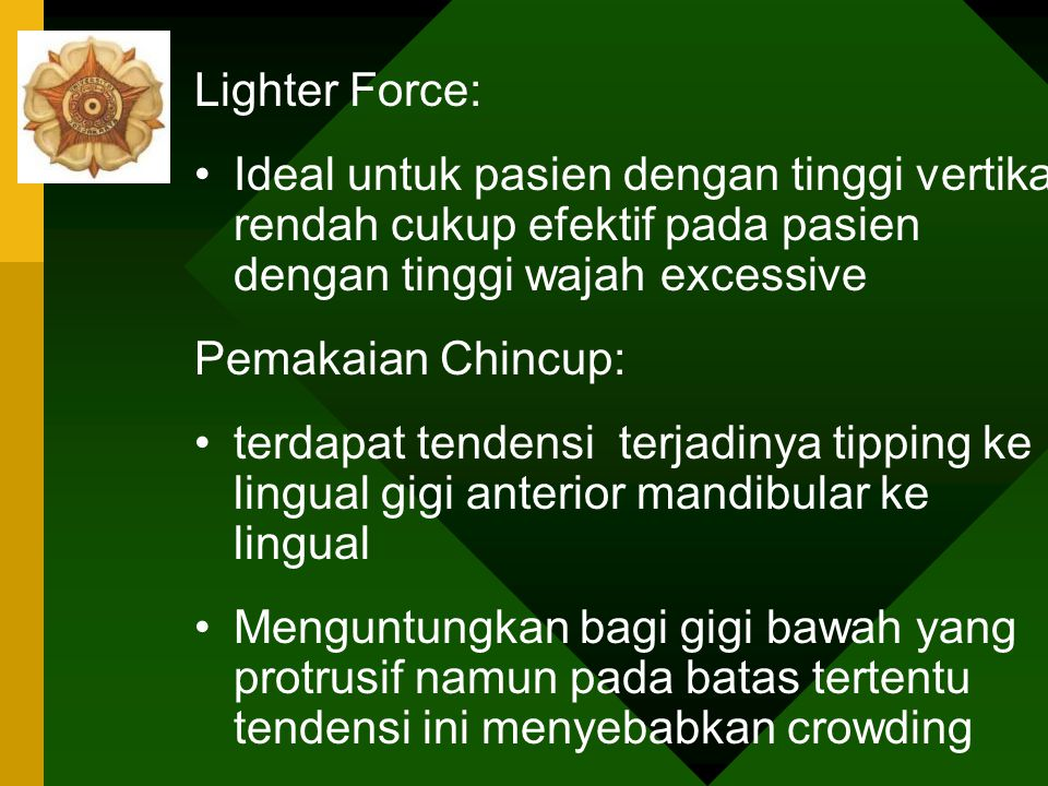 HEAVY FORCE LIGHTER FORCE