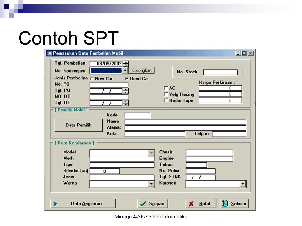 Minggu 4/AK/Sistem Informatika Contoh SPT