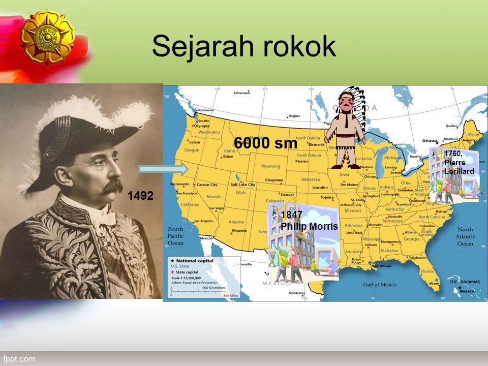 Sejarah rokok 6000 sm 1492 1760, Pierre Lorillard 1847 Philip Morris