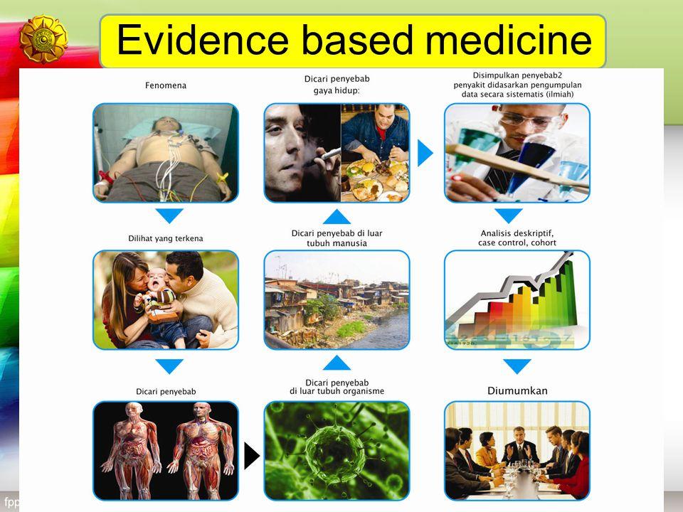 Evidence based medicine Dicari penyebab di luar tubuh manusia: gambar rumah, lingkungan kumum Dicari penyebab di luar tubuh organisme: gambar cacing,