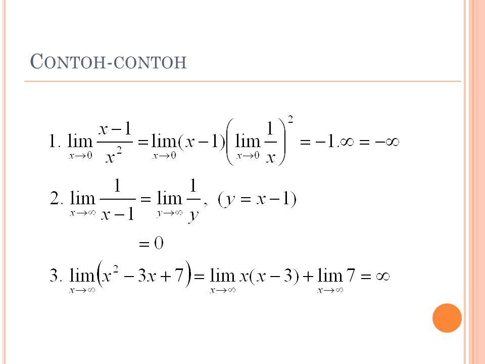 C ONTOH - CONTOH