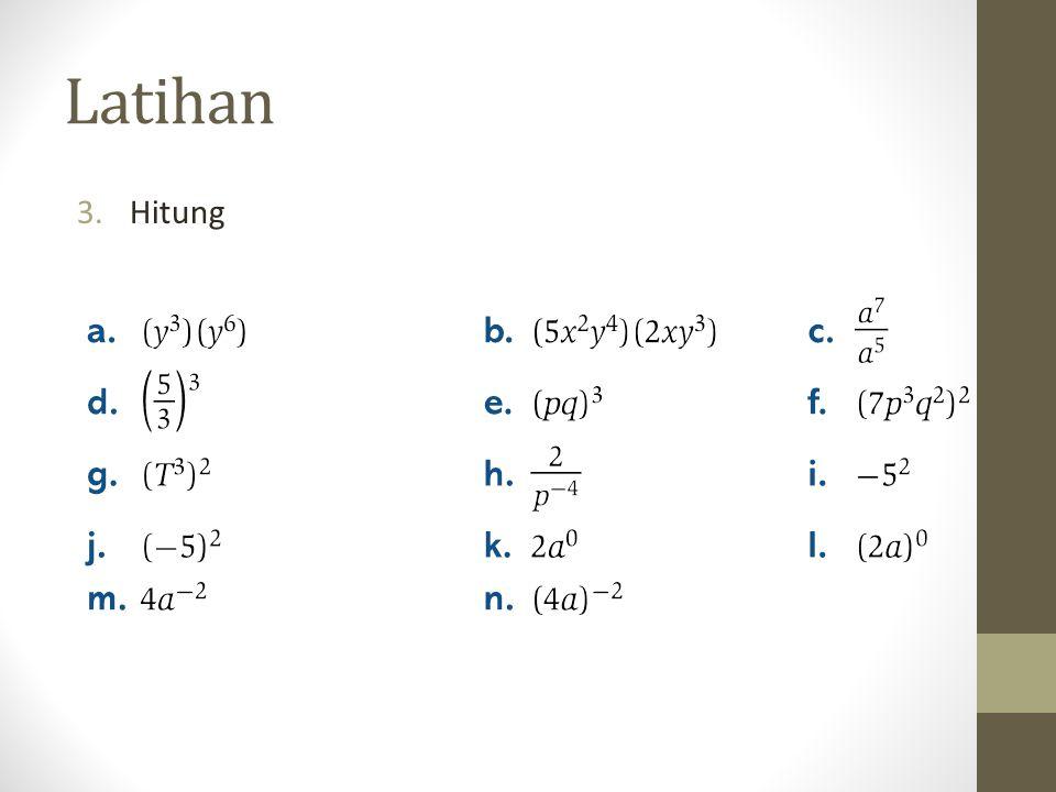 Fungsi Logaritma adalah Invers dari Fungsi Eksponensial