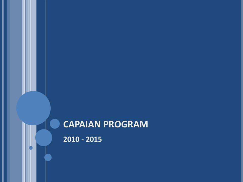 CAPAIAN PROGRAM 2010 - 2015