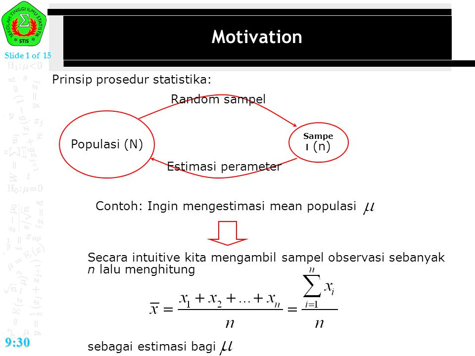 Slide 12 of 15 9:30 Metode CDF: bivariate case