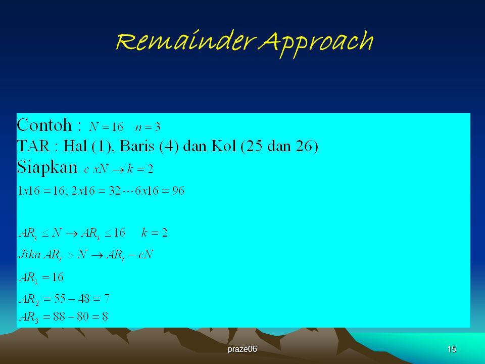 praze0615 Remainder Approach
