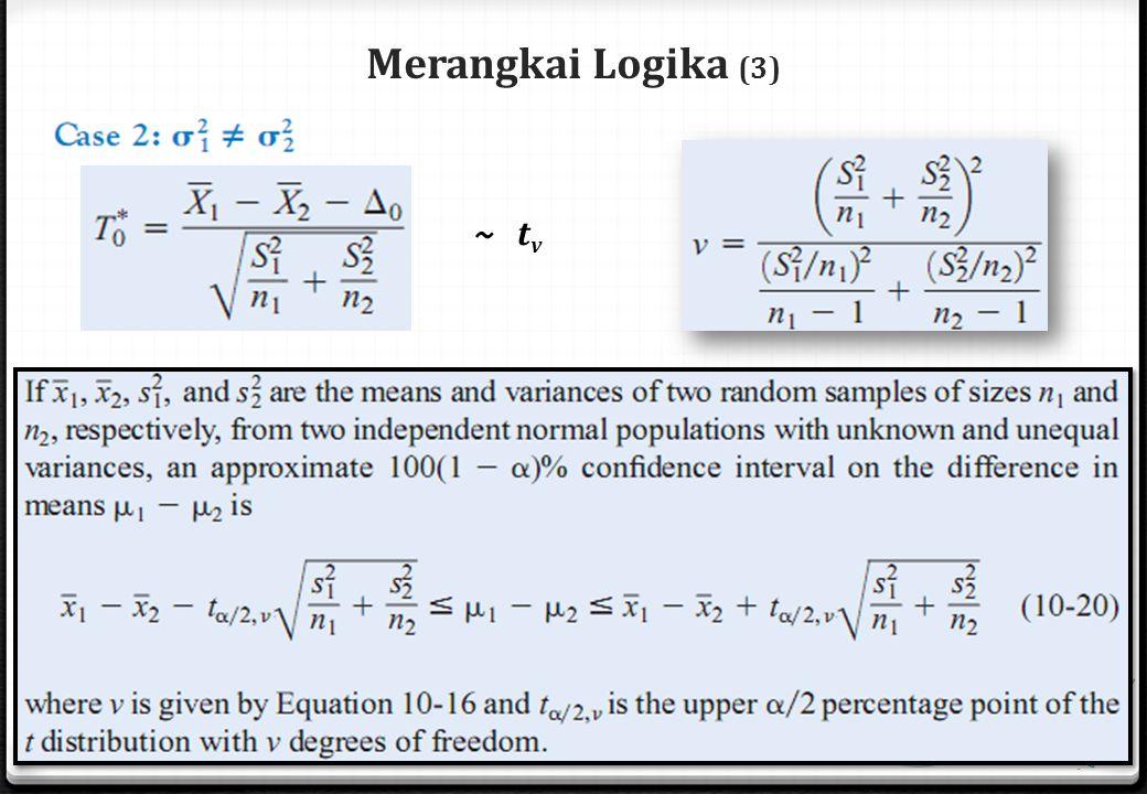 Merangkai Logika (3) ~ t v