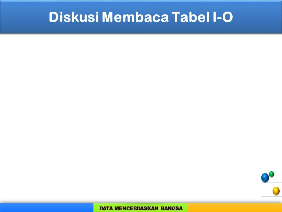 Diskusi Membaca Tabel I-O